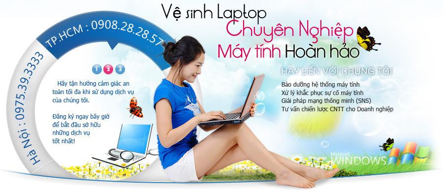 Vệ sinh laptop Samsung