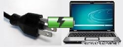 Giải quyết sự cố laptop không sạc pin