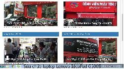 Phùng Gia chuyên sửa chữa laptop Lenovo IdeaPad G500S lỗi bị giật điện