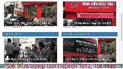 Chuyên sửa chữa laptop Dell Inspiron 1012, 10z 1120, 11 3000, 11 3135 lỗi không nhận pin laptop