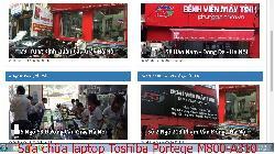 Dịch vụ sửa chữa laptop Toshiba Portege M800-A310, M800-A360, M800-E330, M900-P300 lỗi nhiễu hình
