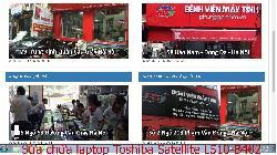 Bảo hành sửa chữa laptop Toshiba Satellite L510-B402, L510-B404, L510-S4011, L510-S4016 lỗi không lên hình
