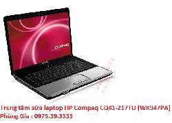 Trung tâm sửa laptop HP Compaq CQ41-217TU (WK947PA) giá rẻ uy tín
