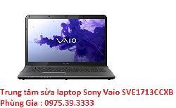Trung tâm sửa laptop Sony Vaio SVE1713CCXB giá rẻ lấy ngay